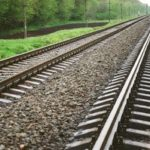 Vanishing Railway Tracks